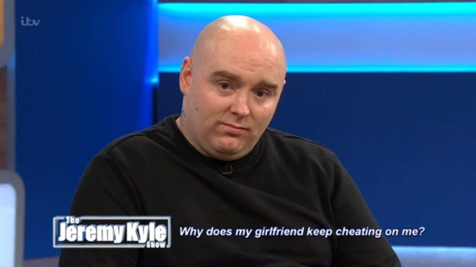 Jeremy Kyle Rob told to ditch his cheating girlfriend