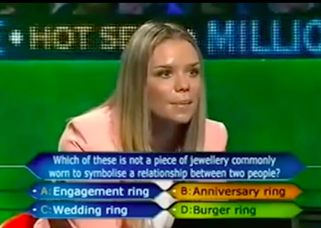 Whitney Beseler who wants to be a millionaire