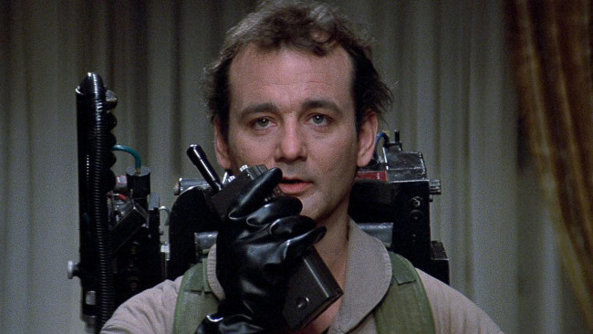 Bill Murray as Peter Venkman in Ghostbusters