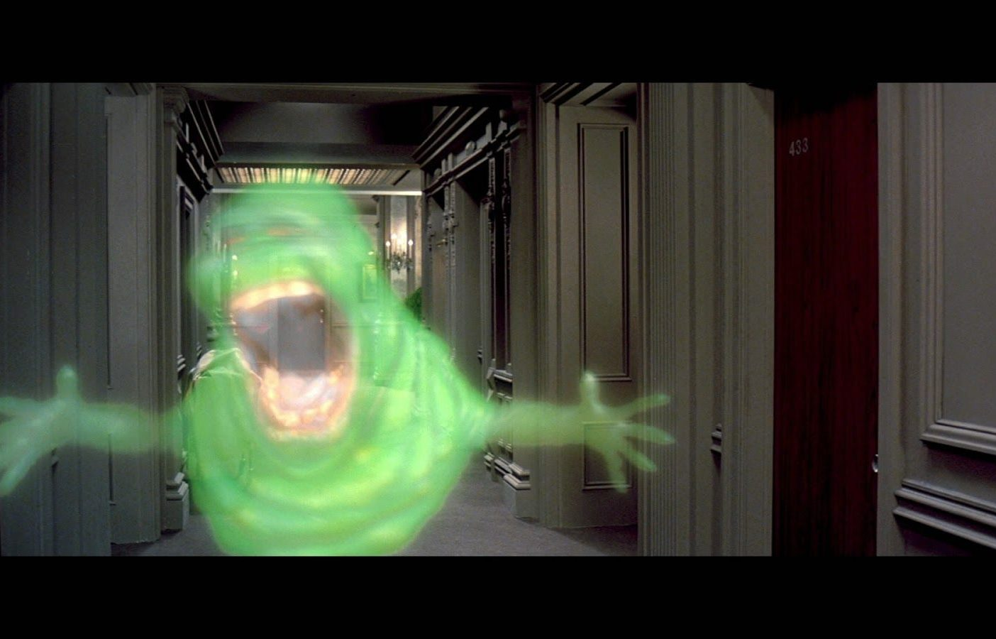 Slimer form Ghostbusters