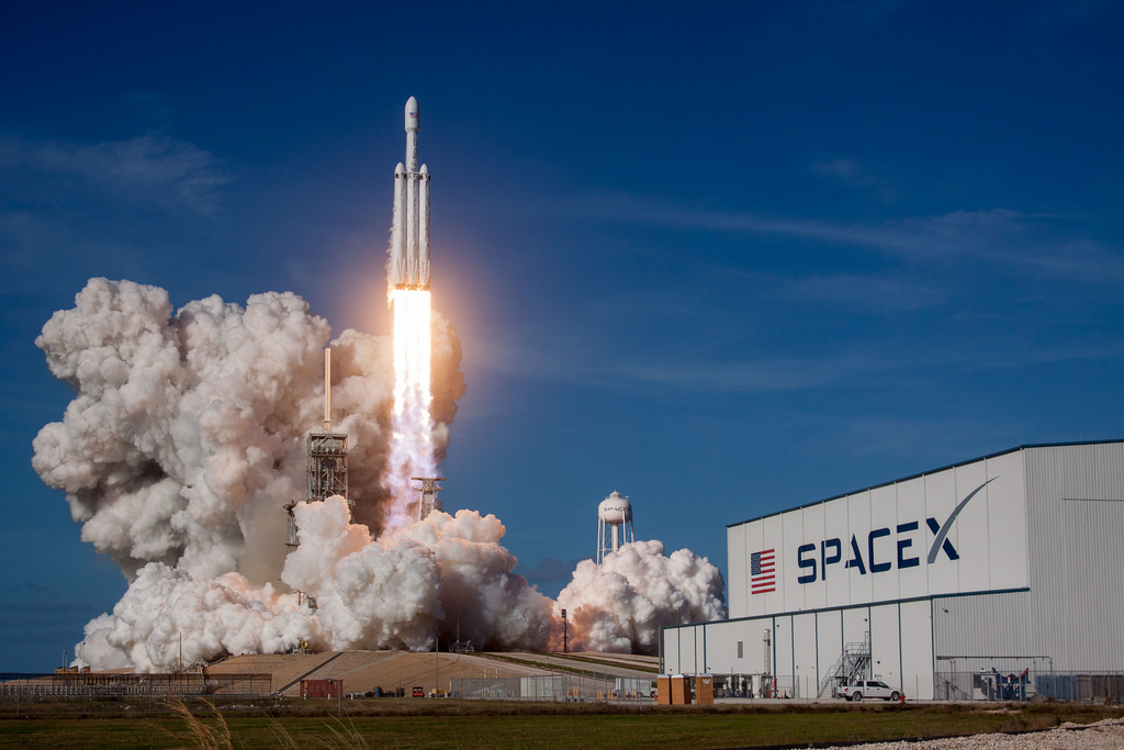 Space X Falcon Heavy Demo Mission