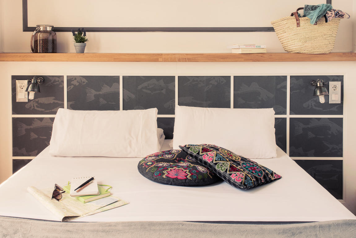 Bed detailing at Barcelona hostel, Casa Gracia, by Hostelworld