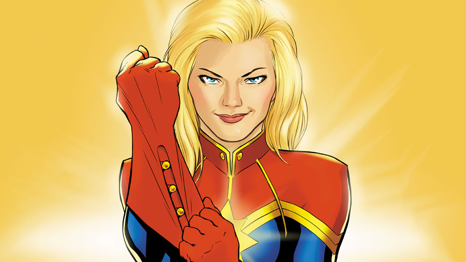 Cover to Captain marvel 1#