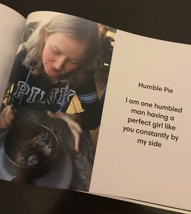 Girls Boyfriend Surprises Her With Incredible Book Of All Their Dates BOOK OF DATES 1