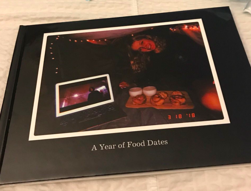 Girls Boyfriend Surprises Her With Incredible Book Of All Their Dates BOOK OF DATES