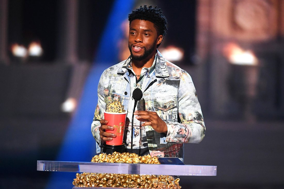 Chadwick Boseman MTV awards