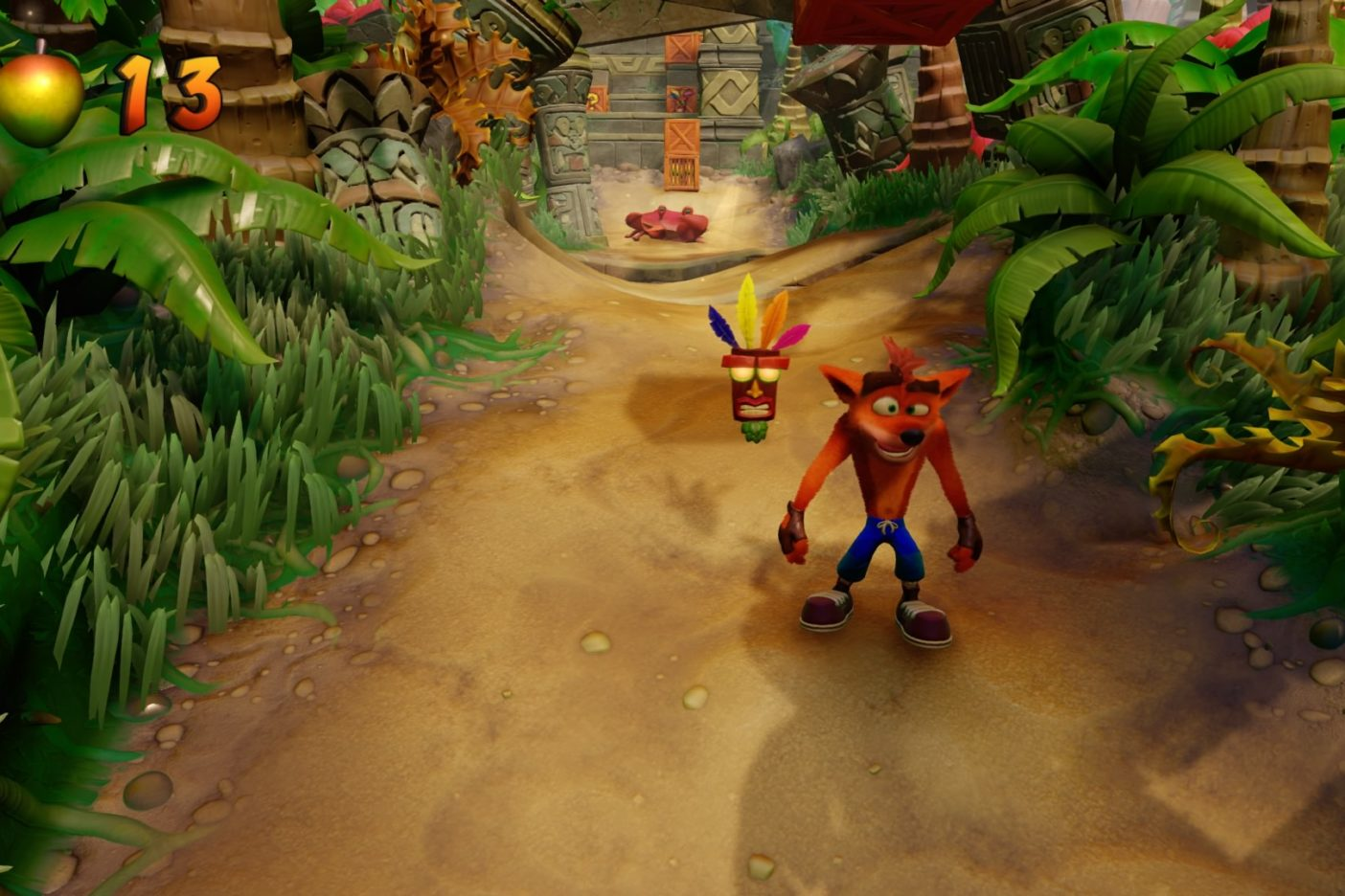 Crash Bandicoot gameplay