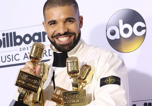 Drake with billboard awards