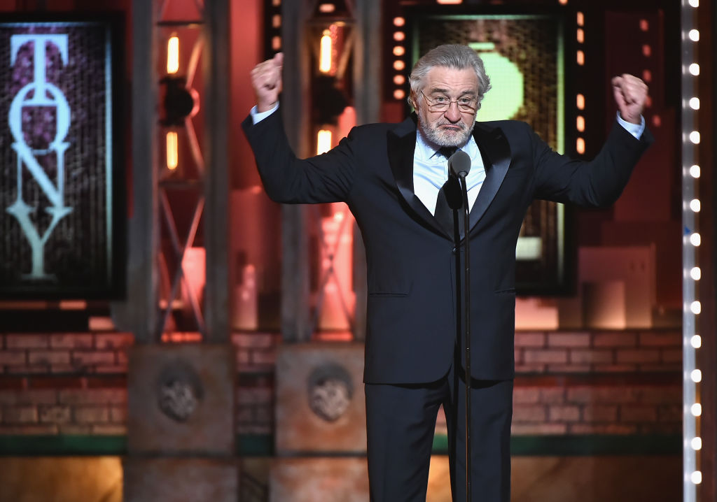 Robert De Niro at the 72nd Tony Awards