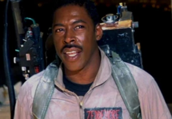 Ernie Hudson as Winston Zeddimore in Ghostbusters