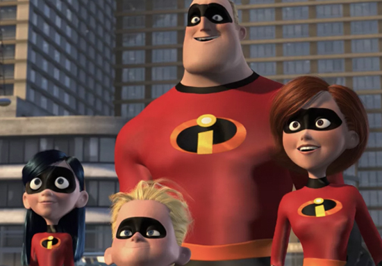 The Incredibles 2 is for adults.