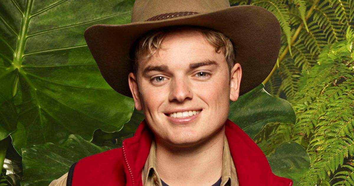 Jack Maynard Ready for I'm A Celebrity...Get Me Out Of Here