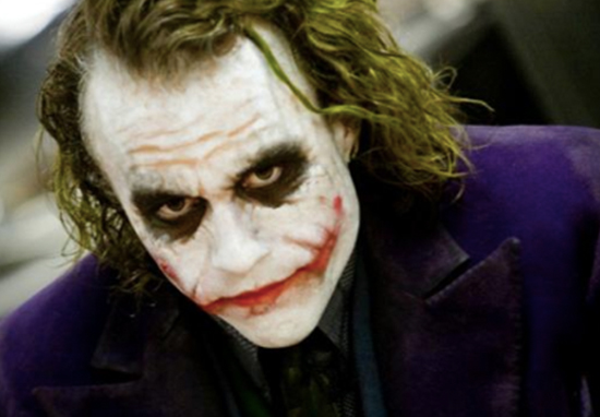 Heath Ledger Joker rumour confirmed.