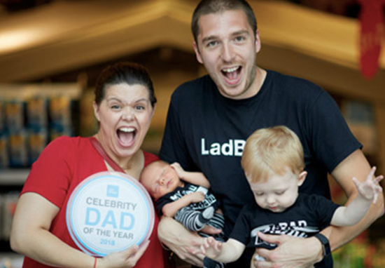 LadBaby has won celeb dad of the year.