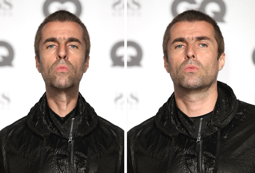 Liam Gallagher Symmetrical
