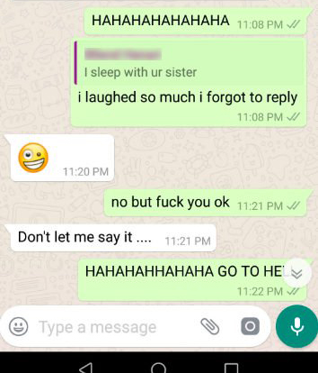 Marwan funny brother-in-law text unilad