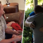 Dad Has Incredible Reaction To Son Returning Home From Military