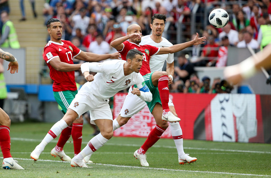 Portugal vs Morocco World Cup group stage