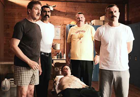 Super Troopers 2 shaving scene