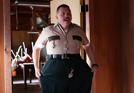 Kevin Heffernan as Farva in Super Troopers 2