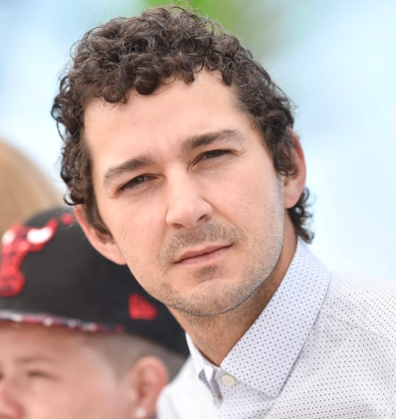 Shia LaBeouf plays dad in new film.