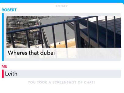 Lad Mistakes Dubai For Scotland On Snapchat Screen Shot 2018 06 06 at 20.15.05