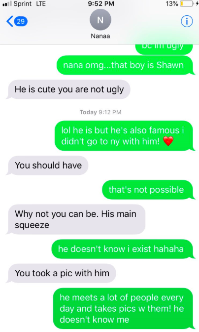Girl Takes Picture With Celeb, Her Grandma Thinks Its Her Boyfriend Screen Shot 2018 06 07 at 17.39.43