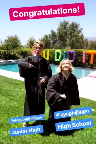 Reese Witherspoon daughter graduation