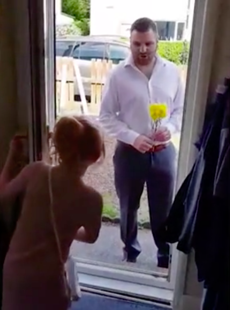 Mum Captures Sweet Moment Husband Takes Stepdaughter On Their First Date Night Screen Shot 2018 06 12 at 16.16.48