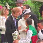 Prince Harry's Reaction To Frankie Dettori Kissing Meghan Markle Was Priceless