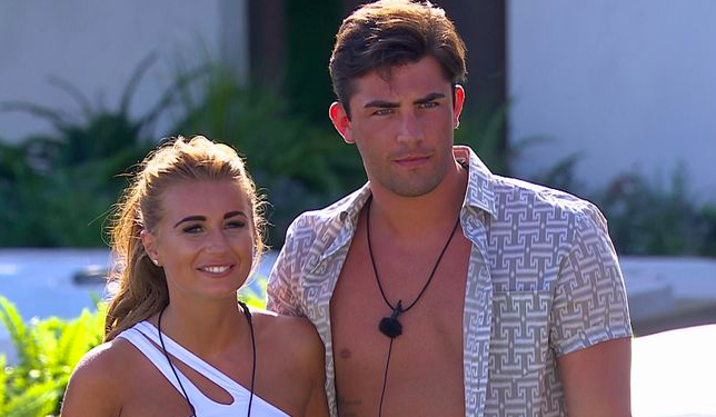 Jack and Dani on Love Island