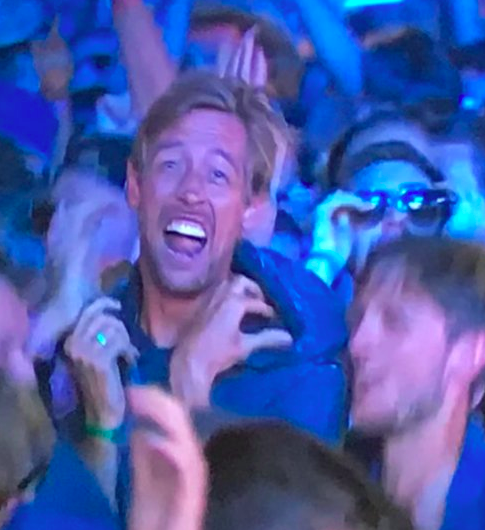 peter crouch mosh pit isle of wight