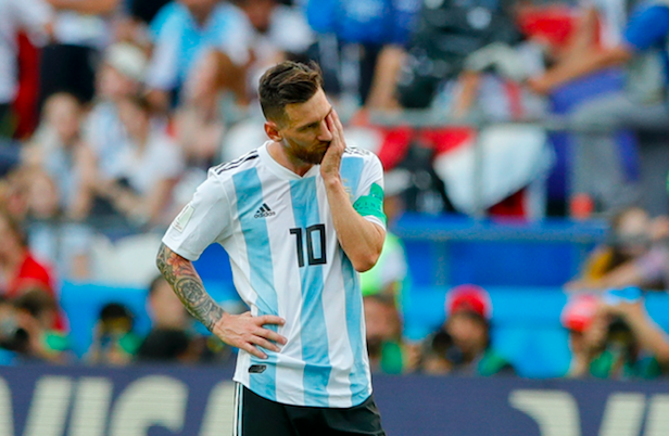 Messi And Argentina Out Of The World Cup In Best Game Of The Tournament Screen Shot 2018 06 30 at 16.47.39