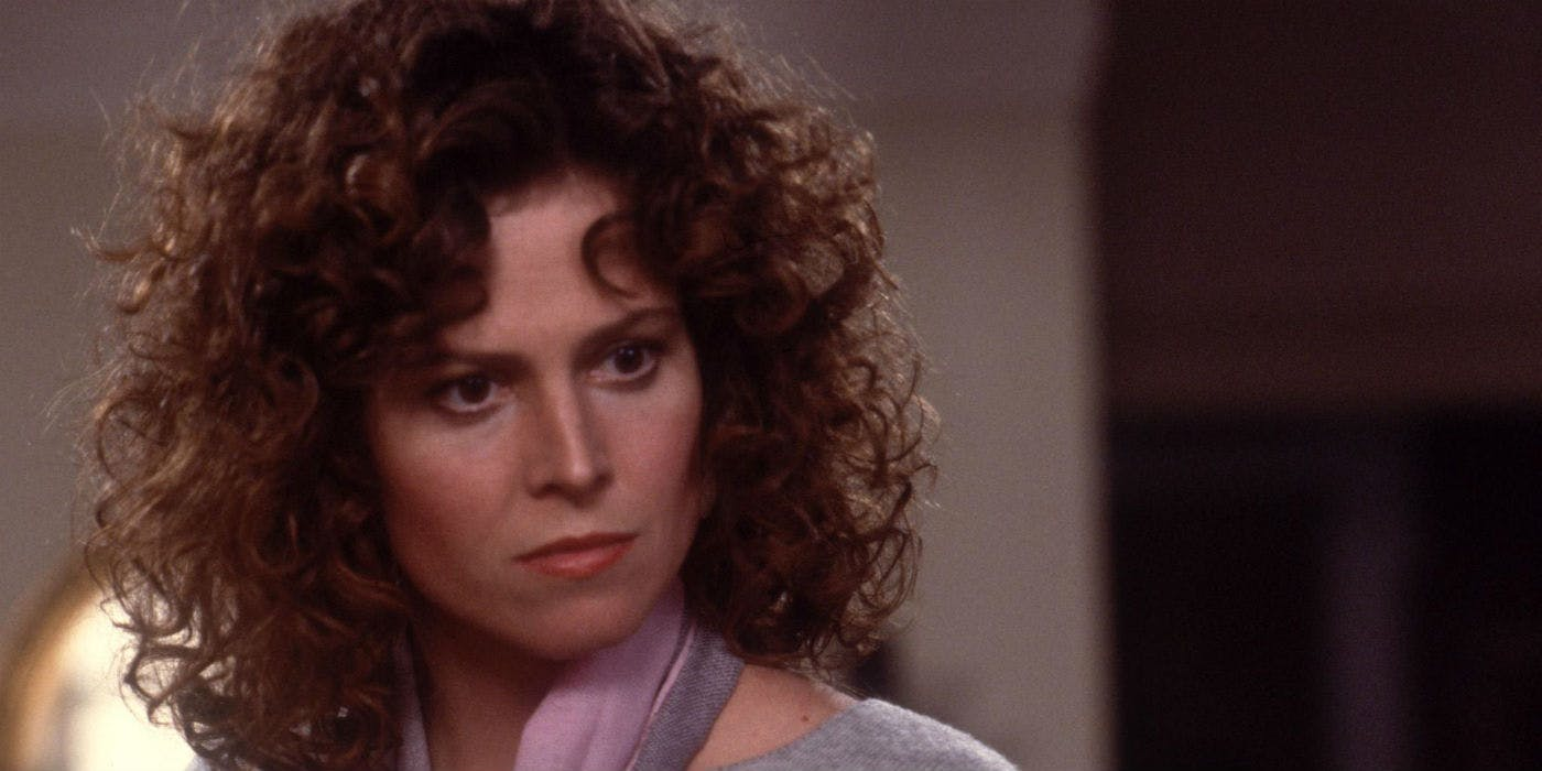 Sigourney Weaver as Dana Barett in Ghostbusters