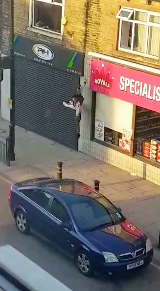 thief fall out window