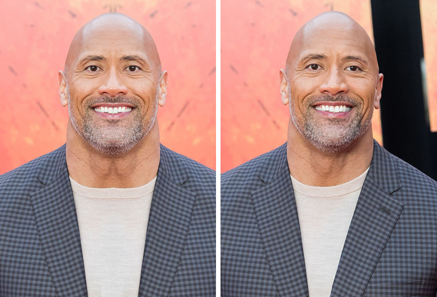 The Rock Symmetrical