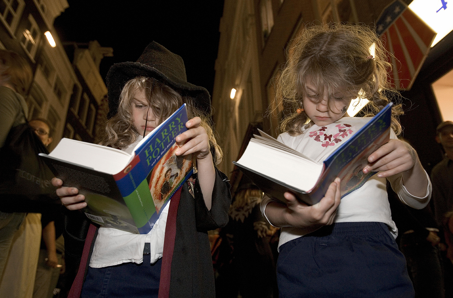 Harry Potter Is Still The Most Important Kids Book Of All Time children reading harry potter books