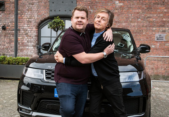 James Corden Paul McCartney