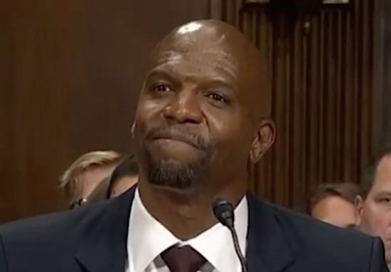 Terry Crews speaks about sexual assault