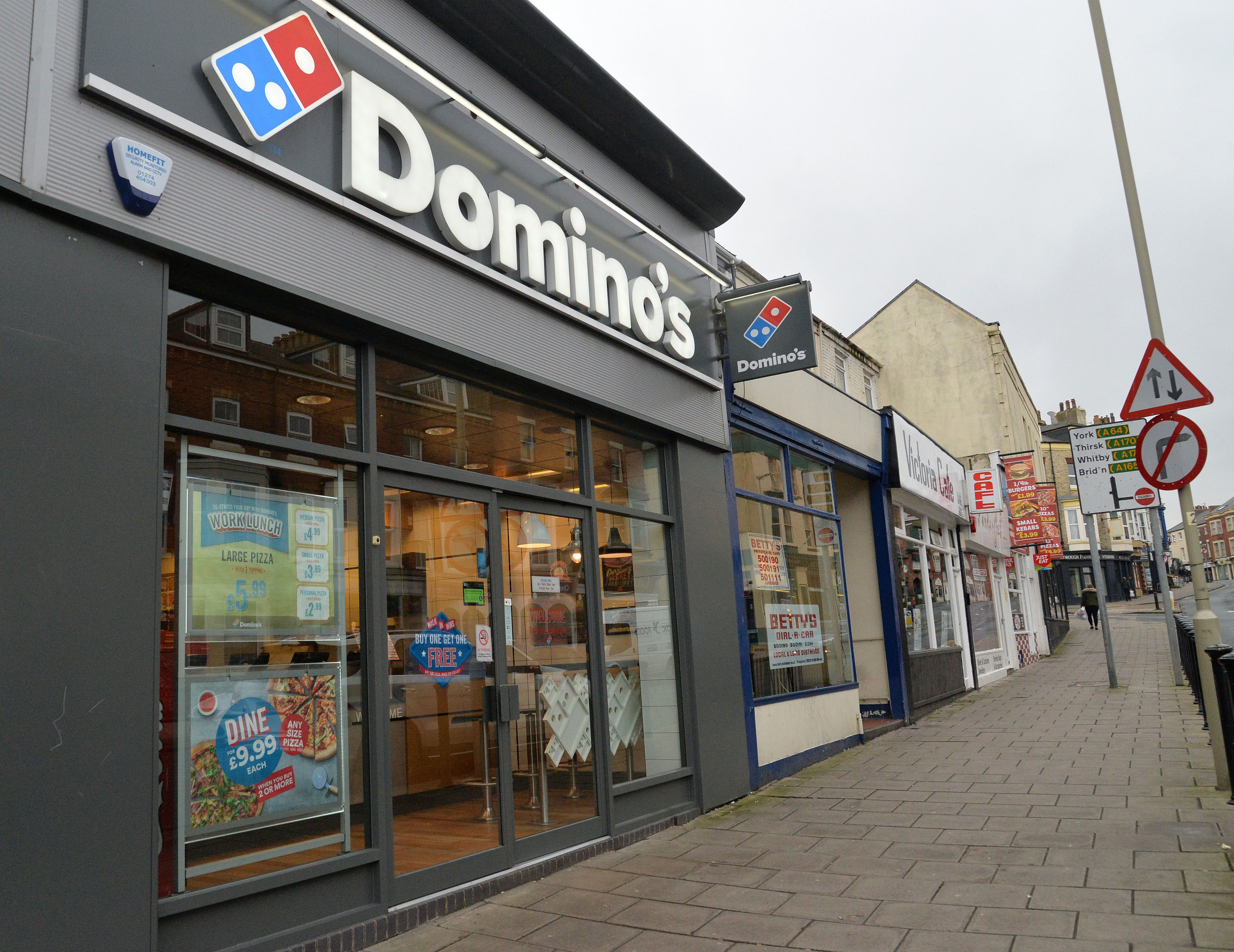 Dominos Are Paving Potholes To Stop Your Pizza From Getting Ruined dominosPA