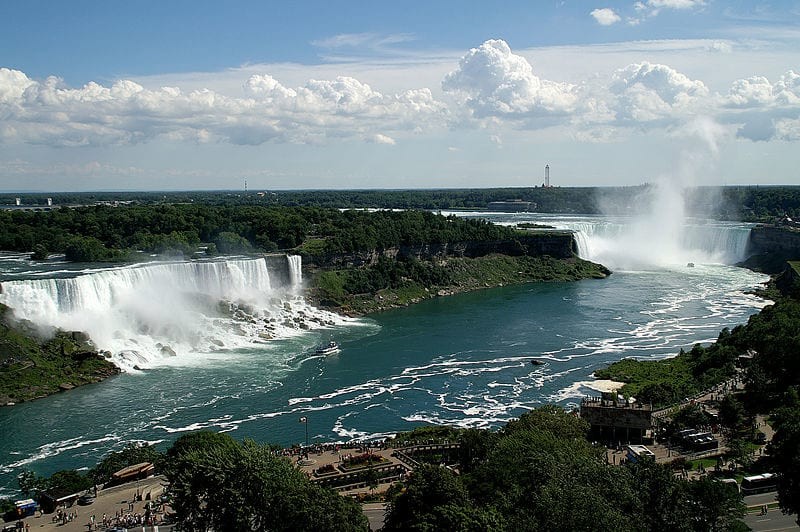 Heres What Engineers Found When They Shut Down Water Flow At Niagara Falls fallsA