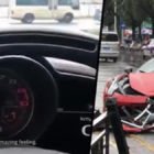 Woman Destroys New £500,000 Ferrari Seconds After Driving Out Of Dealership