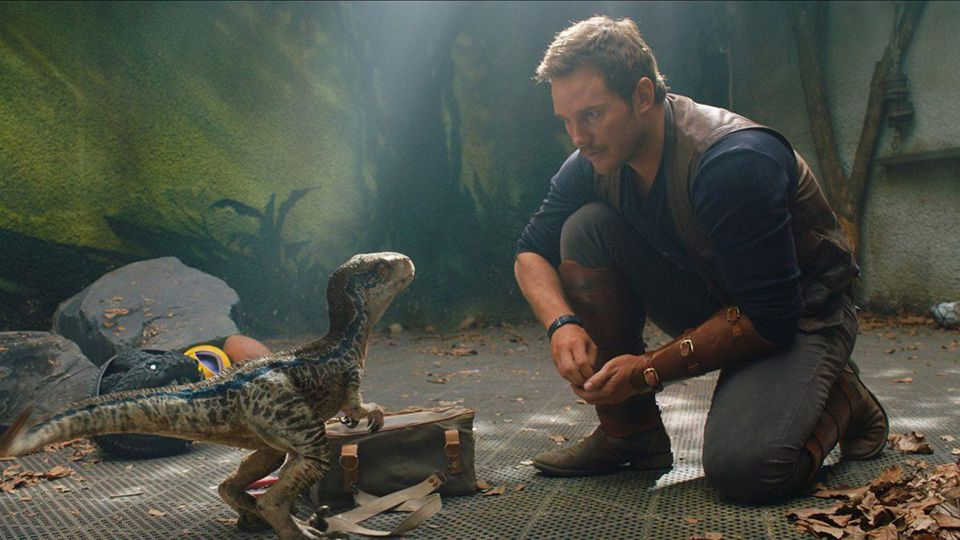 Still from Jurassic World: Fallen Kingdom