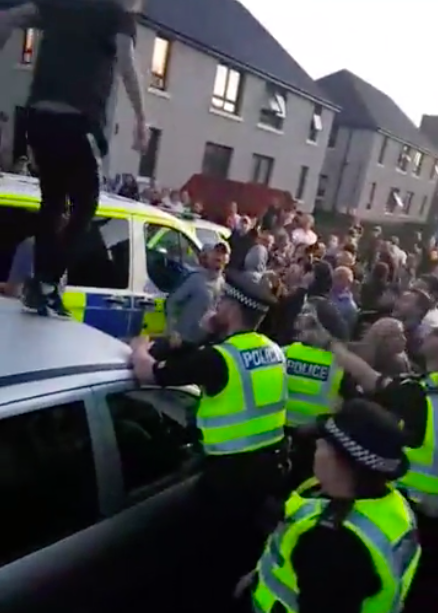Community Uprising Against Alleged Paedophile In Scotland Leads To Arrest image 15