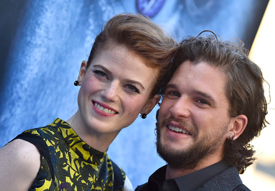 Kit Harrington and Rose Leslie