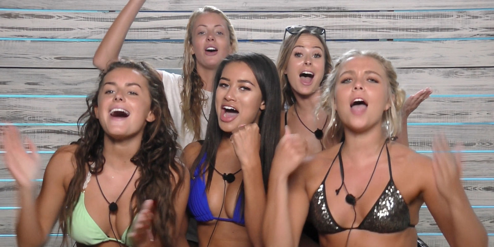 the female contestants of love island