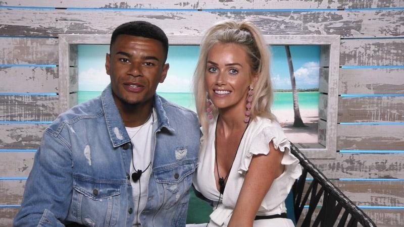 Laura and Wes in Love Island