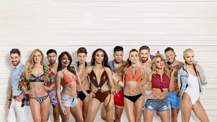 love island series one cast