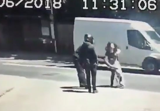 mother and child robbery