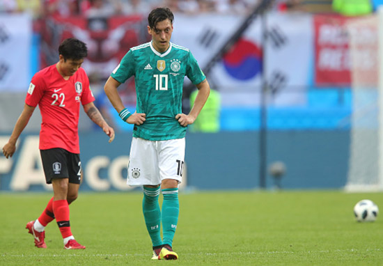 Germany Are Out Of The World Cup In The First Round ozil